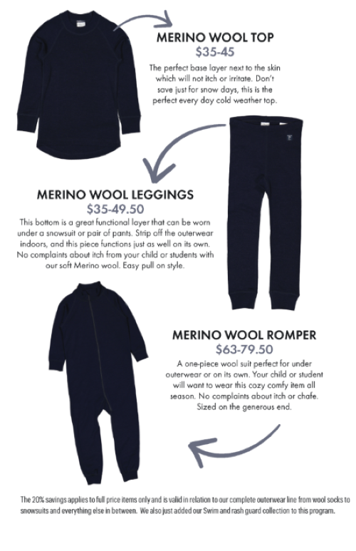 Merino Wool Flyers